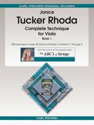 Complete Technique for Viola, Book 1