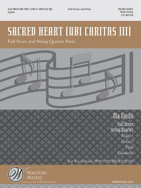 Sacred Heart (Full Score and Instrumental Parts)