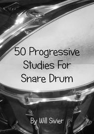 50 Progressive Snare Drum Studies
