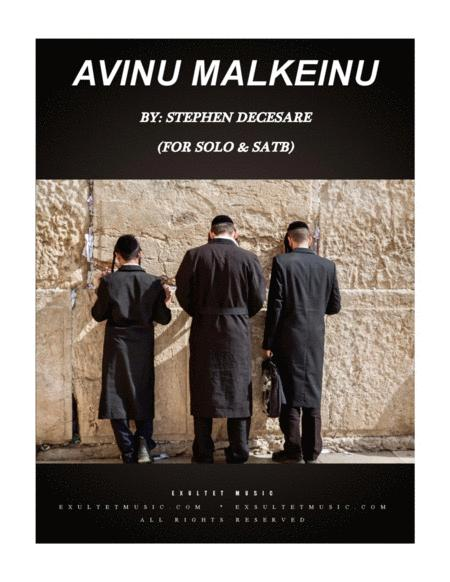 Avinu Malkeinu (for Solo and SATB)