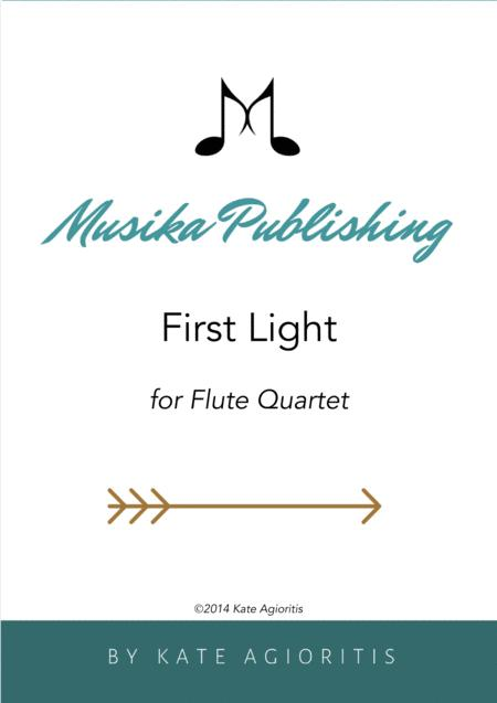 First Light - for Flute Quartet