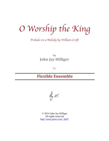 O Worship the King: Prelude on a Melody by William Croft