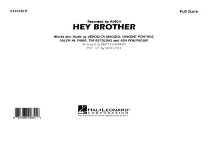 Hey Brother - Conductor Score (Full Score)