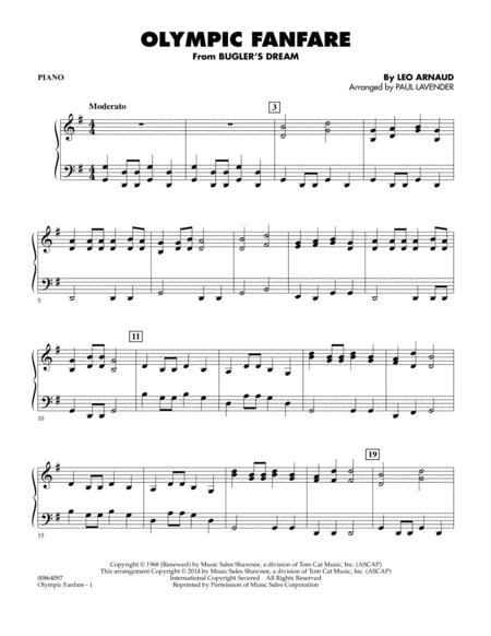 Olympic Fanfare (Bugler's Dream) - Piano