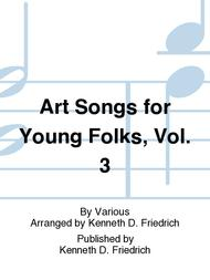 Art Songs for Young Folks, Vol. 3