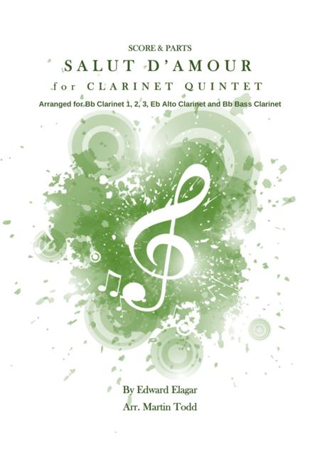 Salut d'Amour for Clarinet Quintet