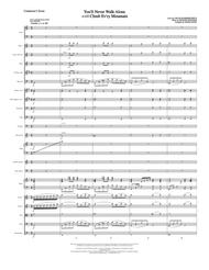 You'll Never Walk Alone (with Climb Every Mountain) - Conductor Score (Full Score)