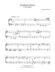 Symphonic Dances - 1st Movement