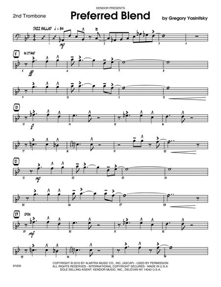 Preferred Blend - 2nd Trombone