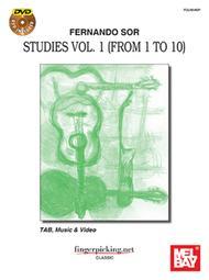 Fernando Sor: Studies Vol. 1 (from 1 to 10)
