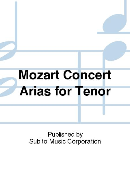 Mozart Concert Arias for Tenor