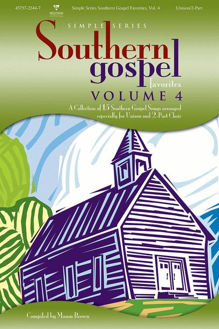 Simple Series Southern Gospel Volume 4 - Split Track Accompaniment CD
