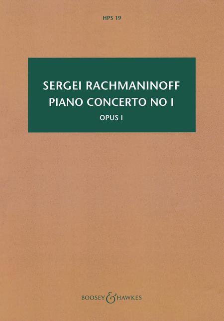 Piano Concerto No. 1, Op. 1