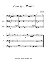 Nursery Rhymes for Three Cellos Book 3
