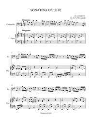 Sonatina Op. 36 #2