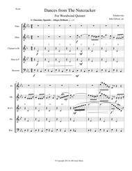 Six Dances from The Nutcracker by Tchaikowsky for Woodwind Quintet