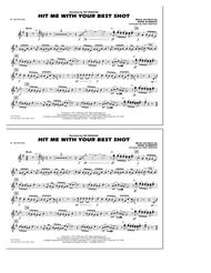 Hit Me with Your Best Shot - Eb Alto Sax