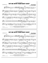 Hit Me with Your Best Shot - Eb Baritone Sax