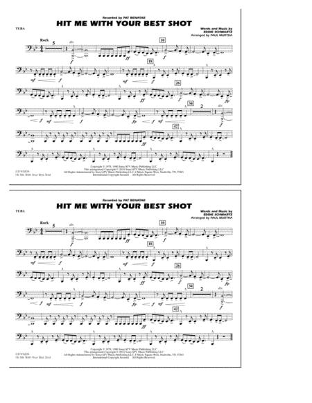 Hit Me with Your Best Shot - Tuba