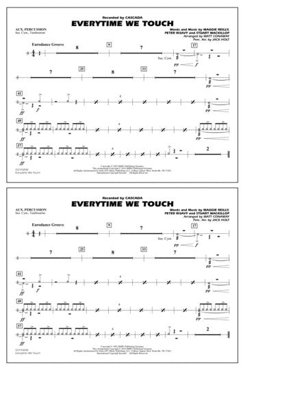 Everytime We Touch - Aux Percussion