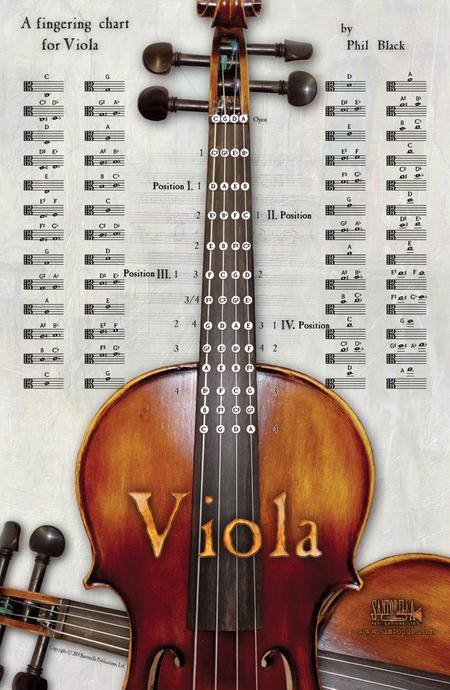 A Fingering Chart for Viola