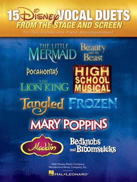 15 Disney Vocal Duets