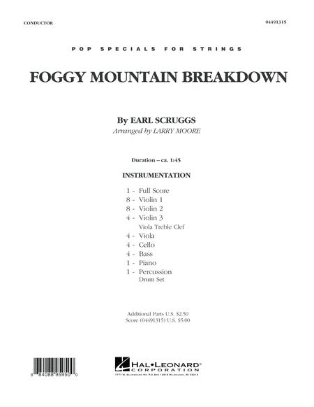 Foggy Mountain Breakdown - Conductor Score (Full Score)