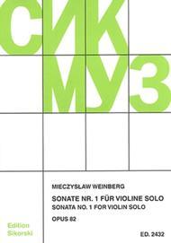 Sonata No. 1 Op. 82