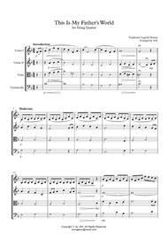 HYMN FOR STRING QUARTET - This Is My Father's World