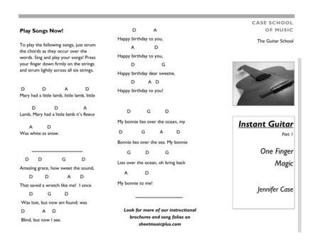 Instant Guitar One-Finger Magic part 1