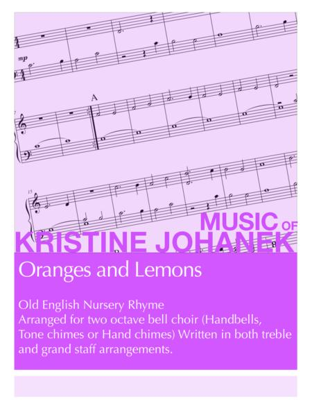 Oranges and Lemons (2 octave handbells, tone chimes or hand chimes)