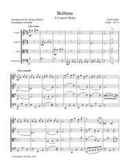 Bethena - A Concert Waltz