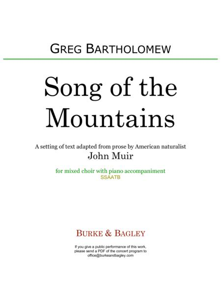 Song of the Mountains