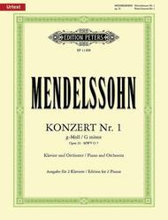 Piano Concerto No. 1 in g minor Op. 25