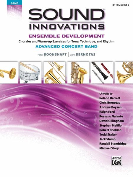 Sound Innovations for Concert Band -- Ensemble Development for Advanced Concert Band