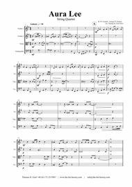 Aura Lee - Love me tender - Elvis - String Quartet