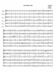 In Nomine no.3 a6 (arrangement for 6 recorders)