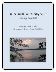 It Is Well With My Soul for String Quartet