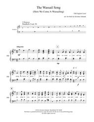 The Wassail Song (Here We Come A-Wassaling) (2 octave handbells, tone chimes or hand chimes)