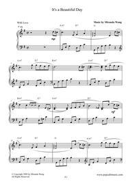 It's a Beautiful Day - Wedding Piano Music by Miranda Wong