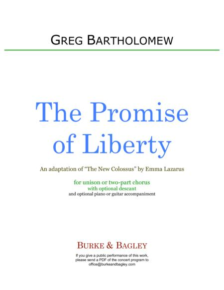 The Promise of Liberty (Unison or 2-part)