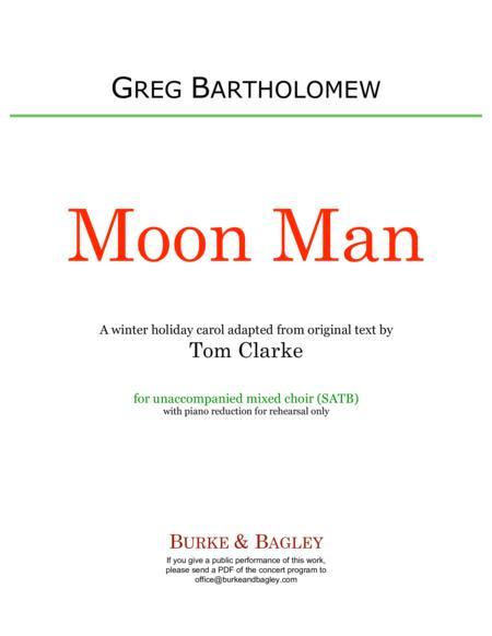 Moon Man (SATB)