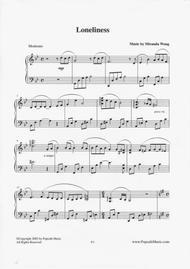 Loneliness - Romantic Piano Music by Miranda Wong