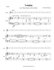 Moon Dance of the Fireflies COMPLETE (Longing, Joy, Remembrance score with violin solo parts)