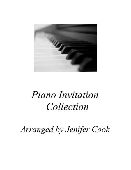 Piano Invitation Collection