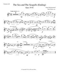 The Sea and The Seagulls by Rachmaninoff set for clarinet and piano