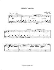 Sonatina Antiqua