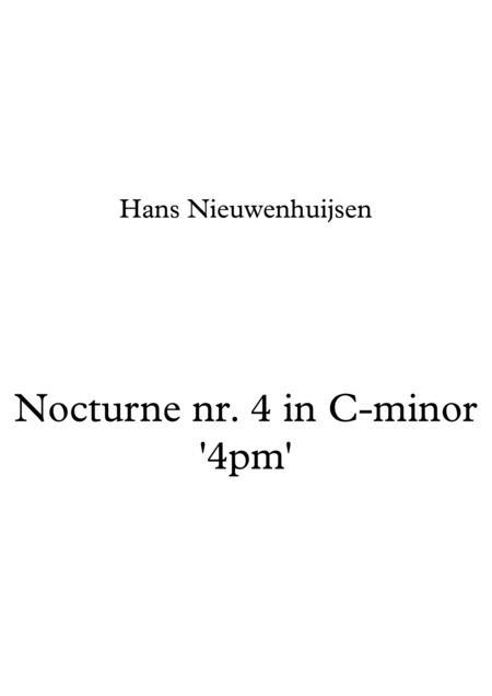 Nocturne nr. 4 in C-minor '4pm'