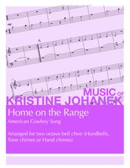 Home on the Range (2 octave handbells, tone chimes or hand chimes)