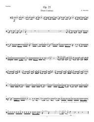 Op. 25 for HS Drumline